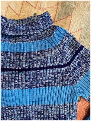 Vintage 1970's Turtleneck Sweater