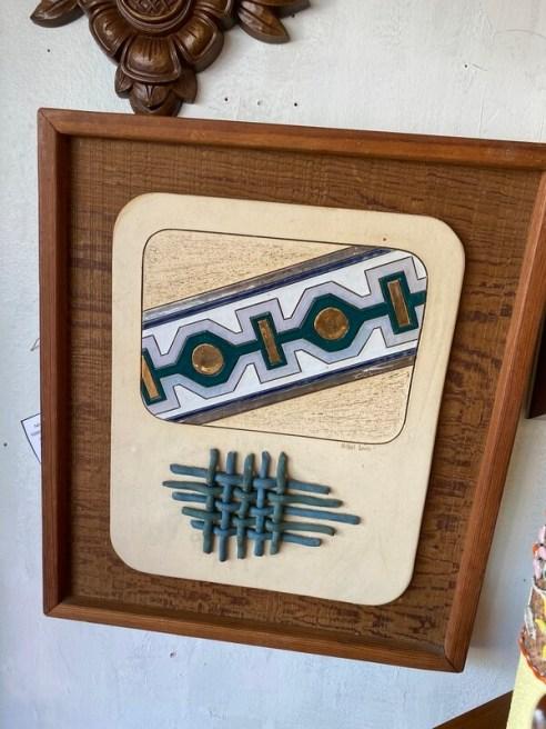 Vintage 80's Original Southwest Motif by Michael Lewis