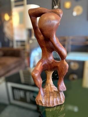 Vintage Hand Carved Sculpture