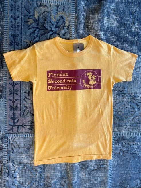 Vintage Florida's Second-Rate University T-Shirt