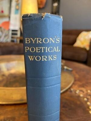 1930 Lord Byron Poetical Works
