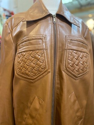 Vintage 1970's Sears Men's Vegan Leather