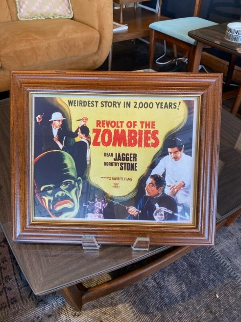 Vintage Revolt of the Zombies Movie Reprint