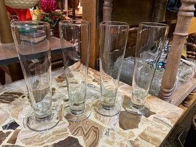 Vintage Pilsner Glasses