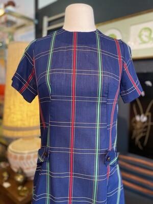 Vintage 1960's Handmade Day Dress