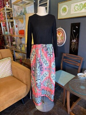 Vintage Quilted Maxi