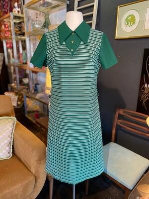 Vintage 1960's Honey Comb Poly Mod Dress