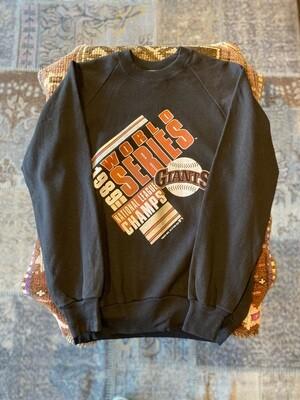 Vintage 1989 World Series National League Champs Giants Sweatshirt