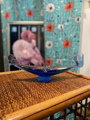 Vintage Murano Glass Gondola Ashtray