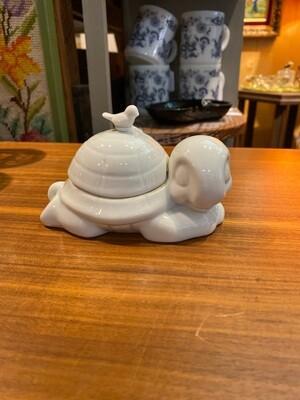 Vintage Ceramic Turtle Box