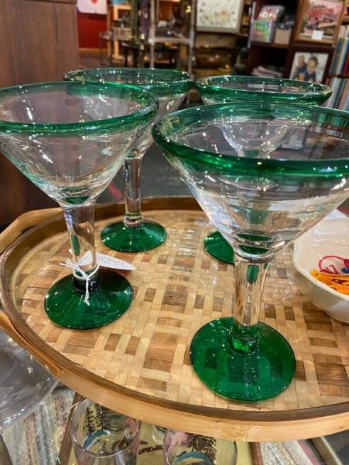 Vintage Margarita Glasses