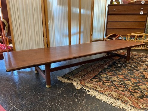 Mid Century Modern Low Coffee Table