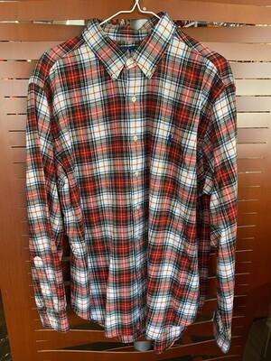 Vintage Ralph Lauren Plaid Men's Shirt
