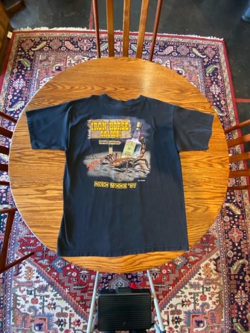Vintage World Famous Iron Horse Saloon Bike Week 1997 T-Shirt