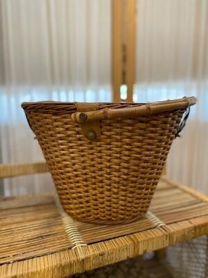 Vintage 1960's Basket Purse/Lunch Box