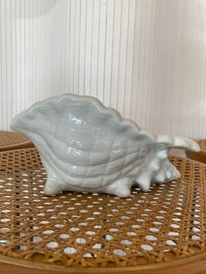 Vintage Ceramic Sea Shell Planter