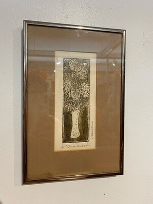 Vintage 1970's 'Queen Anne's Lace' by Joanne Isaac