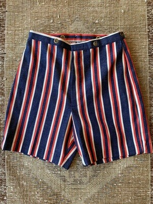 Vintage Red White & Blue Shorts