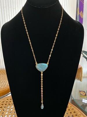 Handmade Labradorite Gold Filled Necklace