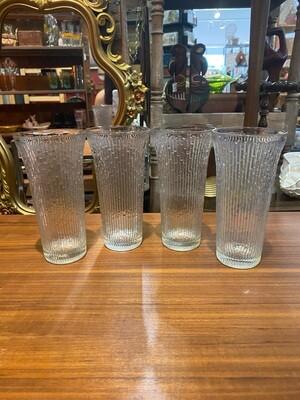 Vintage Set of Pilsner Glasses