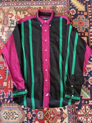 Vintage Ralph Lauren Men's Shirt