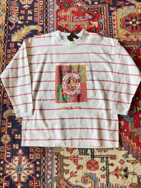 Vintage Gitano Striped Shirt