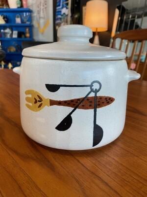 Vintage West Bend Bean Pot