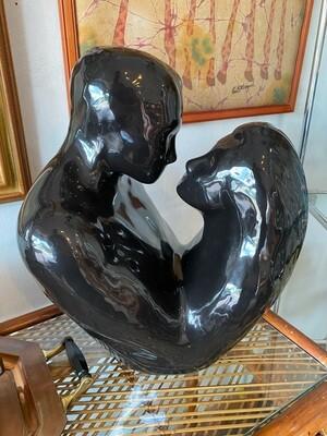 Vintage Heager Ceramic Love Couple