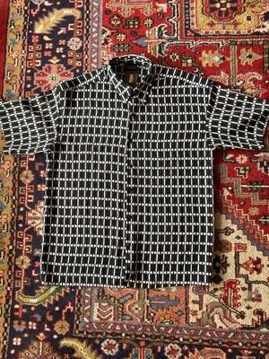 Vintage Men's Monzini Casual Button Down Shirt