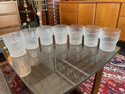 Vintage Set of German Ice Glasses