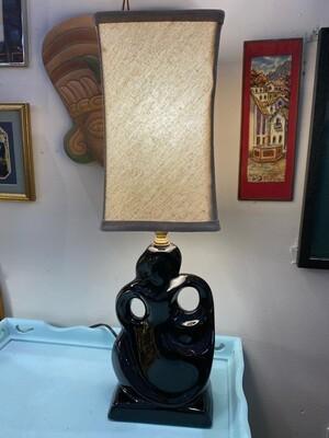 Mid Century Modern Dancing Woman Ceramic Lamp