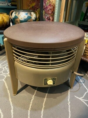 Vintage Frigid 3 Speed Hassock Floor Fan