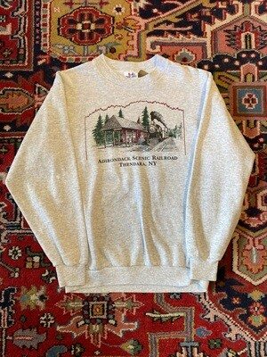 Vintage Adirondack Scenic Railroad Thendara, NY Sweatshirt