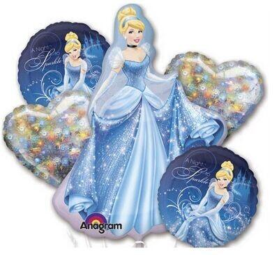 Cinderella Balloon Bouquet
