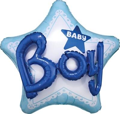 Celebrate Baby Boy Multi-Balloon