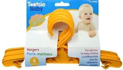 Tootsie Baby,6-pc Baby Hangers