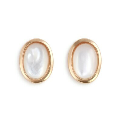 Mother of Pearl Gold Giving Earrings