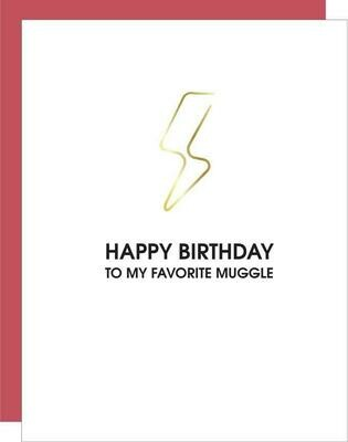 Happy Birthday to My Favorite Muggle Paperclip Card