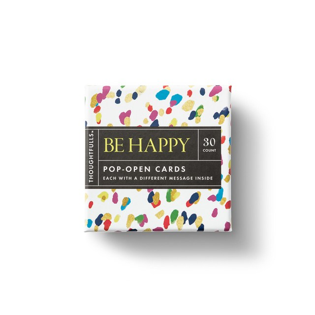 Thoughtfulls Pop-Up Cards - Be Happy