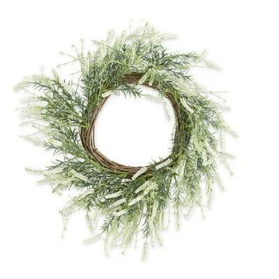 Cream Lavender Wreath