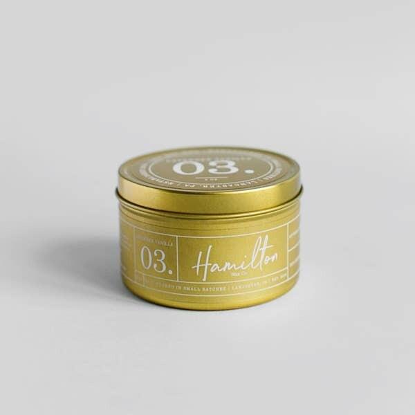 Lavender Vanilla Tin Candle