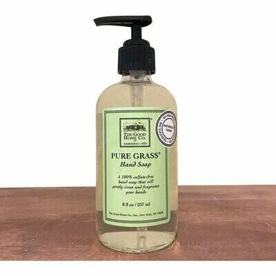 Pure Grass Hand Soap 8 Oz.