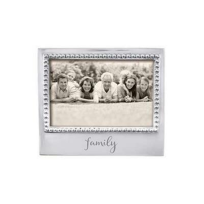 Family Beaded 4 X 6 Frame