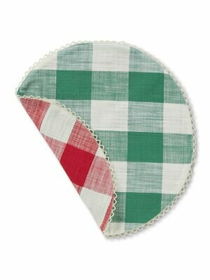 Reversible Cottage Check Placemat