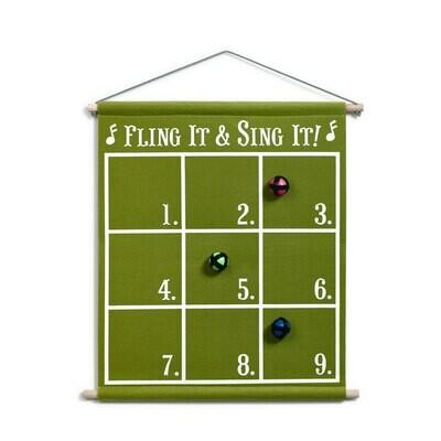 Fling it & Sing it Song Game