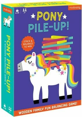 Pony Pile-Up Game Board