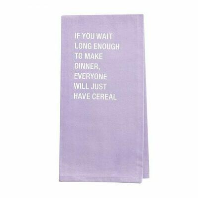 Cereal Tea Towel