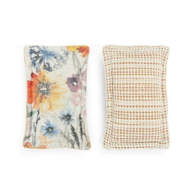 Meadow Flowers Kitchen Sponge Set/2