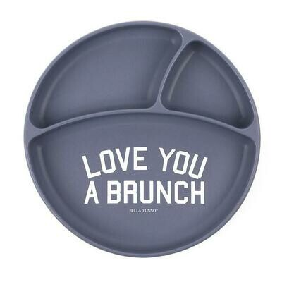 Love You A Brunch Sectioned Plate