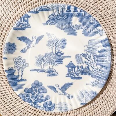Chinoiserie Melamine Plate